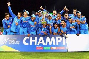 India defeated Australia by eight wickets in the final to win the ICC Under-19 Cricket World Cup 2018 title.