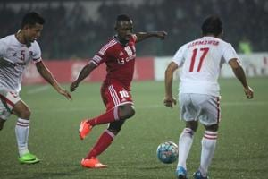 Dipanda Dicka, top scorer of I-League 2016-17, says he is yet to get...