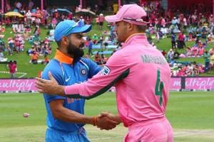 India vs South Africa: Hosts, fans don pink for breast cancer...