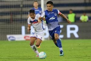 Bengaluru FC continued their winning run in the Indian Super League...