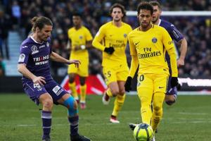 Neymar stretches PSG's Ligue 1 lead ahead of Real Madrid tie in...