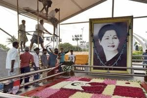 Jayalalithaa's portrait to be unveiled in Tamil Nadu assembly on...