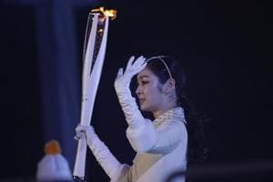 2018 Winter Olympics: 'Queen' Kim Yuna thrilled with final torchbearer...