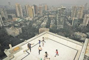 "MUMBAI: You have to watch how hard you kick the ball, when there's a chance it could plummet several stories. But the terrace and building lobby are often the only spaces available for play in overcrowded Mumbai. ""I get so bored. We just go around passing the  ball, or do simple shots. Sometimes we play box cricket in the lobby,"" says Atharv Gune, 14. ""I love football, but I hate to play it like  this."""