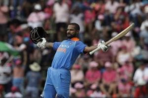 Shikhar Dhawan becomes 1st Indian to score hundred in 100th ODI