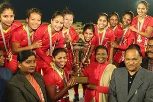 Railways win senior women's hockey nationals