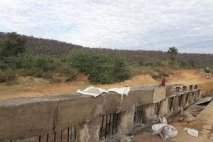 An enclosure will be built at Mukundra Tiger Hills Reserve in Rajasthan's Kota district on 200 square kilometre area. In the first phase, 82 sq km area will be enclosed by March 31.