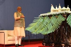 PM Modi lays foundation stone for first Hindu temple in Abu Dhabi