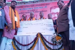 Party largesse makes state BJP richer by ₹25 crore