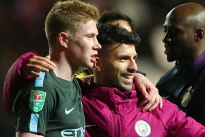Manchester City lucky to have Kevin De Bruyne, says hattrick hero...