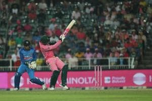 South Africa beat India by five wickets (D/L) in the fourth ODI at the Wanderers Cricket Ground in Johannesburg. Get highlights of India vs South Africa, 4th ODI here.