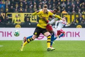 Marco Reus returns as Borussia Dortmund claim 500th Bundesliga win at...