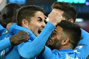 Napoli crush Lazio to stay top ahead of Juventus FC in Serie A