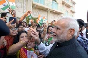 In Muscat, PM Modi says worked hard to bring India out of Congress...
