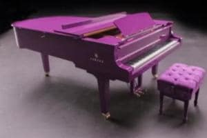 Prince's favourite purple piano may fetch $50,000 at auction