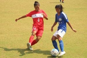 Manipur face Tamil Nadu in Senior Women's National Football...