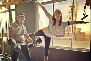 Gully Boy stars Ranveer Singh, Alia Bhatt hit the gym together in...