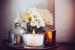 Here's how to create a romantic ambience at home for Valentine's Day