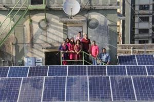 With solar panels, the society is expected to save Rs11.7 lakh per annum in electricity bills.
