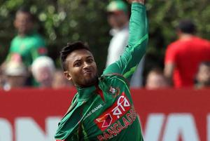 Shakib Al Hasan could miss Sri Lanka Twenty20 series due to finger...