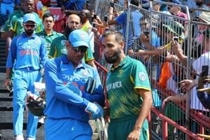 Imran Tahir was verbally and racially abused by an unknown man during...