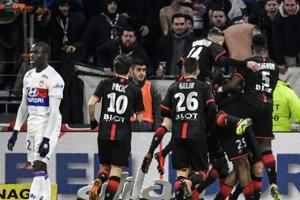 Lyon slump to controversial defeat by Rennes in French Ligue 1