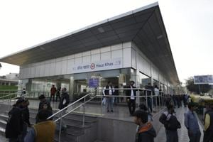 The new station at Hauz Khas will come as a boon for commuters from Gurgaon, Noida, Faridabad and Dwarka.