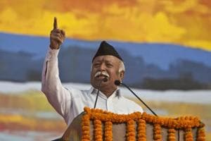 RSS says its chief Mohan Bhagwat compared volunteers with 'general...