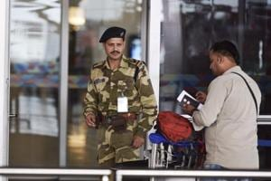 Gold granules mixed with fruit drink powder recovered at Delhi airport