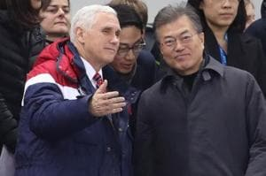 Pence raises prospect of talks with North Korea