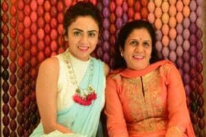 Actor Amruta Khanvilkar considers her mom Gauri as her special Valentine