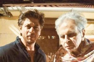 Dilip Kumar shares picture with Shah Rukh Khan and the fans love it a...
