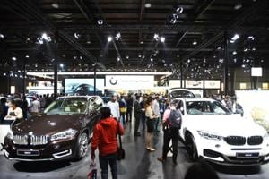 Wednesday will be the last day of the 14-day auto expo motor show.