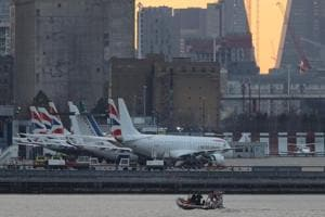 London's City Airport reopens after World War II bomb removed from...