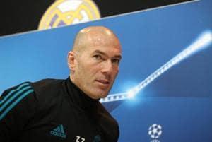 Zinedine Zidane not worried about Real Madrid future before crunch PSG...