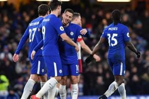 Chelsea beat West Bromwich Albion, move back into top four in Premier...