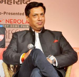 Filmmaker Madhur Bhandarkar attended a three-day-long festival in Delhi University recently.