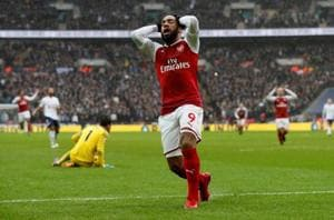 Arsenal's Alexandre Lacazette ruled out for up to six weeks after knee...