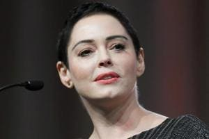 The bad man did this to us: Rose McGowan implies Harvey Weinstein had...