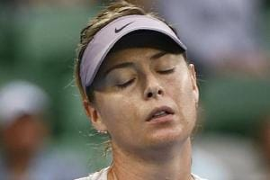 Maria Sharapova crashes out in Qatar Open tennis first round