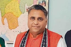 BJP Tripura in charge Sunil Deodhar.