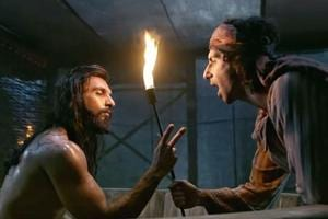 Ranveer Singh calls his Padmaavat co-star Jim Sarbh a 'sex panther' in...