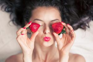 Strawberries are a treasure trove of beauty benefits.