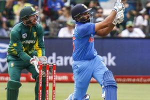 Rohit Sharma's century helped India wrap up the One Day International...