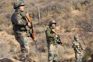 Pak army resorts to heavy shelling along LoC areas in Rajouri in Jammu