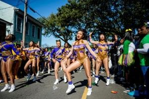 Costumes, beads and music rule Mardi Gras celebrations and street...