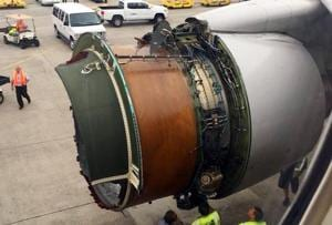 'There was a loud bang': United Airlines flight lands in Hawaii after...