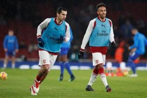 Henrikh Mkhitaryan relishing Pierre-Emerick Aubameyang partnership at...