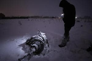 Moscow plane crash may have been caused by ice on speed probes
