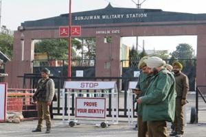 Three terrorists were killed by the army after they attacked the Sunjuwan Military station in Jammu on Sunday.
